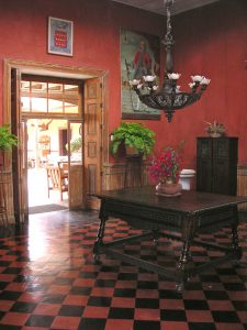 Inside the Casa Hacienda San José.