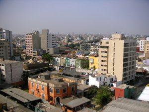 Miraflores, Lima, Perú from the Hotel María Angola.