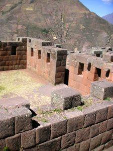 The Písac Inca Ruins in Písac, Cusco.