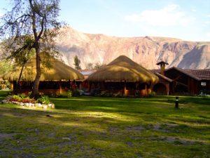 The Alhambra Hacienda Restaurante in Urubamba, Cusco.