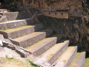 The Ollantaytambo Inca Ruins, Cusco.
