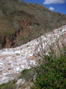 Getting closer to the Salt Mines of Maras (Salinas de Maras), Cusco.