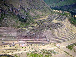 Day 1: Ruins seen from the Camino Inka.
