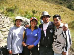 Day 3: Some of our guides from Pachamama Tour Expeditions.