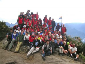 Day 4: A group photo with our guides and porters.