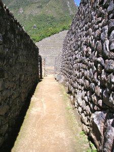 The Machu Picchu Inca Ruins in Perú.