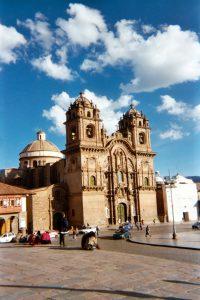 La Iglesia de la Compañía de Jesús, Cusco.